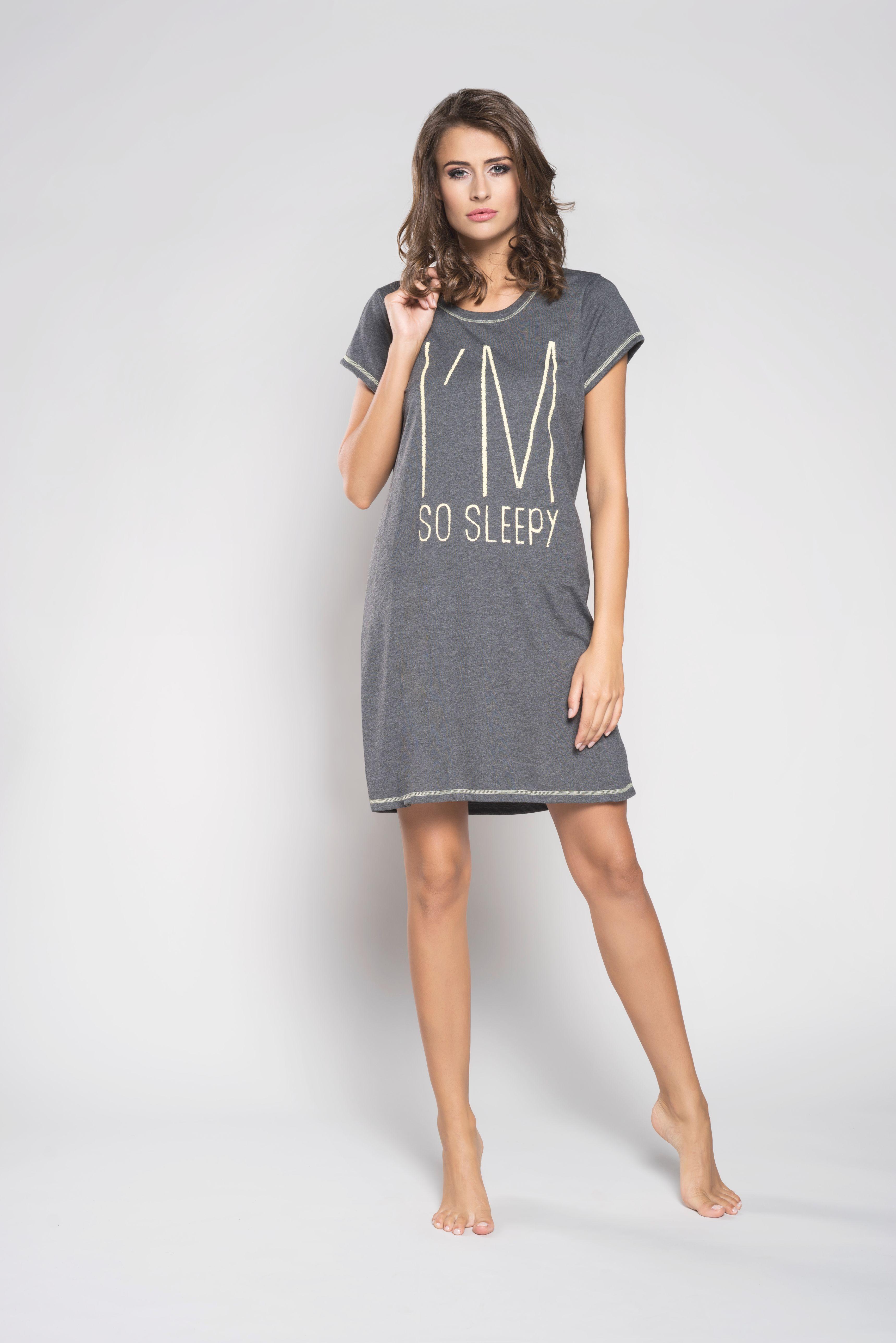 f2224cf20b417e Koszula nocna Italian Fashion Lizbona krótki rękaw