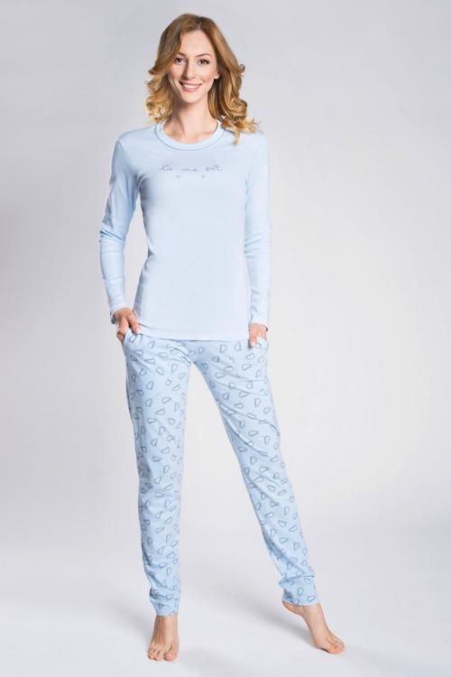 ee99db0f2bc985 Piżama damska Italian Fashion Loara długi rękaw/długie spodnie